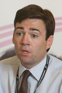 Andy Burnham upside down girly eyes