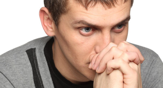 man distressed at girlfriend's film choice