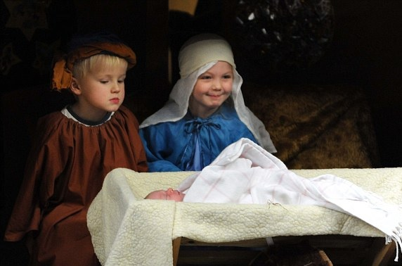 greggs, sorry, baby jesus, sausage roll, nativity